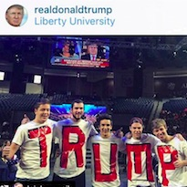 That Time Donald Trump reposted my insta